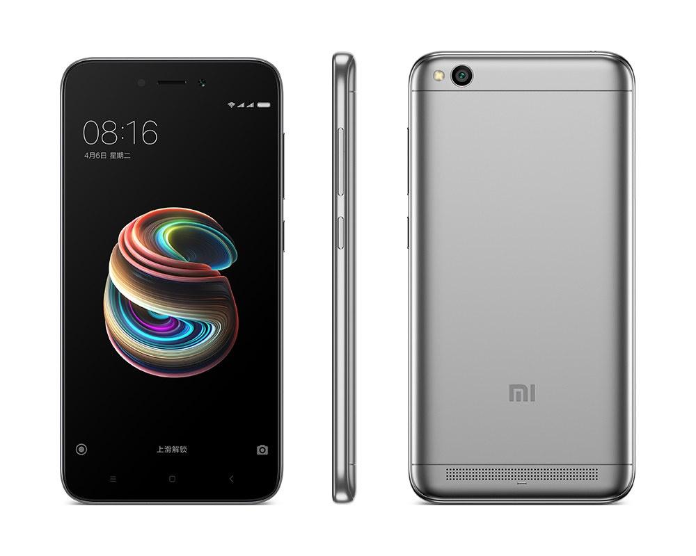 Xiaomi представила дешевый смартфон Redmi 5A