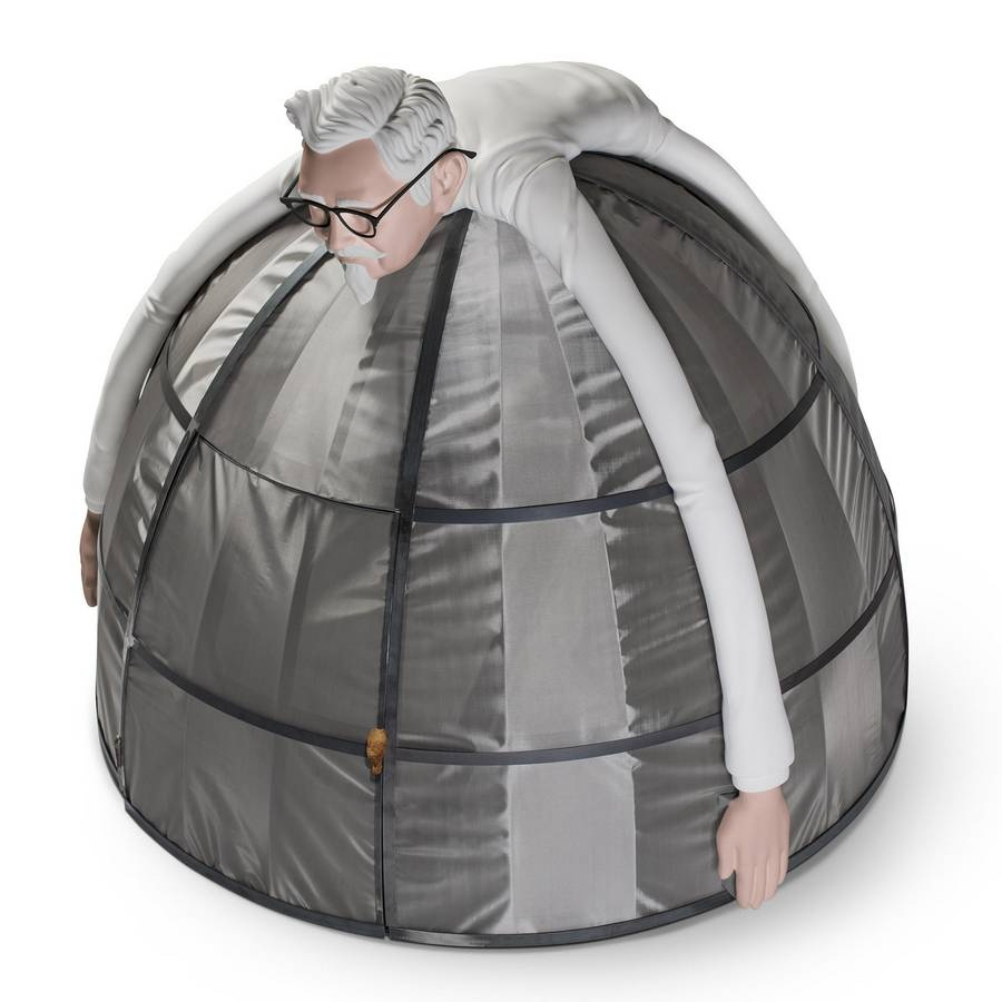 KFC реализует палатку, которая «непропускает интернет»