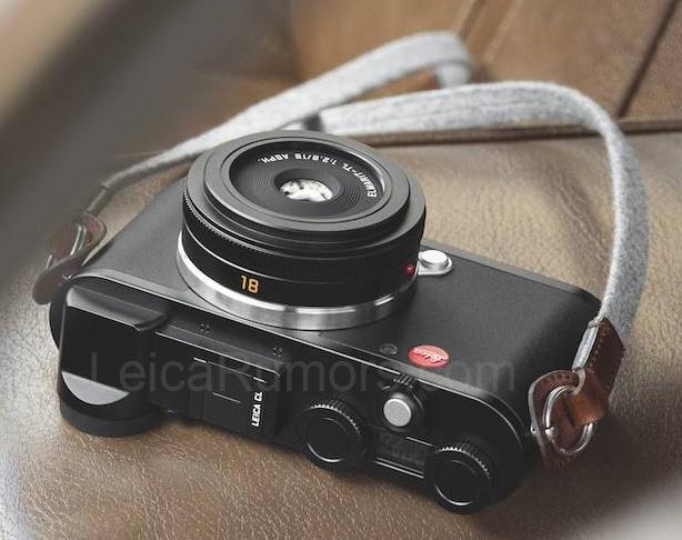 Беззеркальная камера LeicaCL оборудована электронным видоискателем иподдерживает запись видео 4K