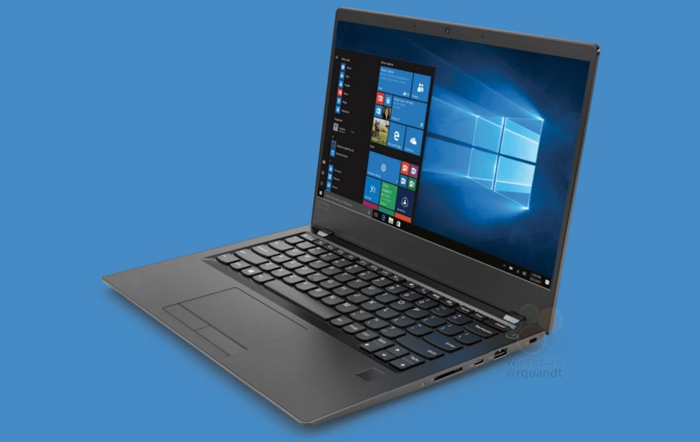 Ноутбук Lenovo V730 получит процессор Intel Core i7-8550U