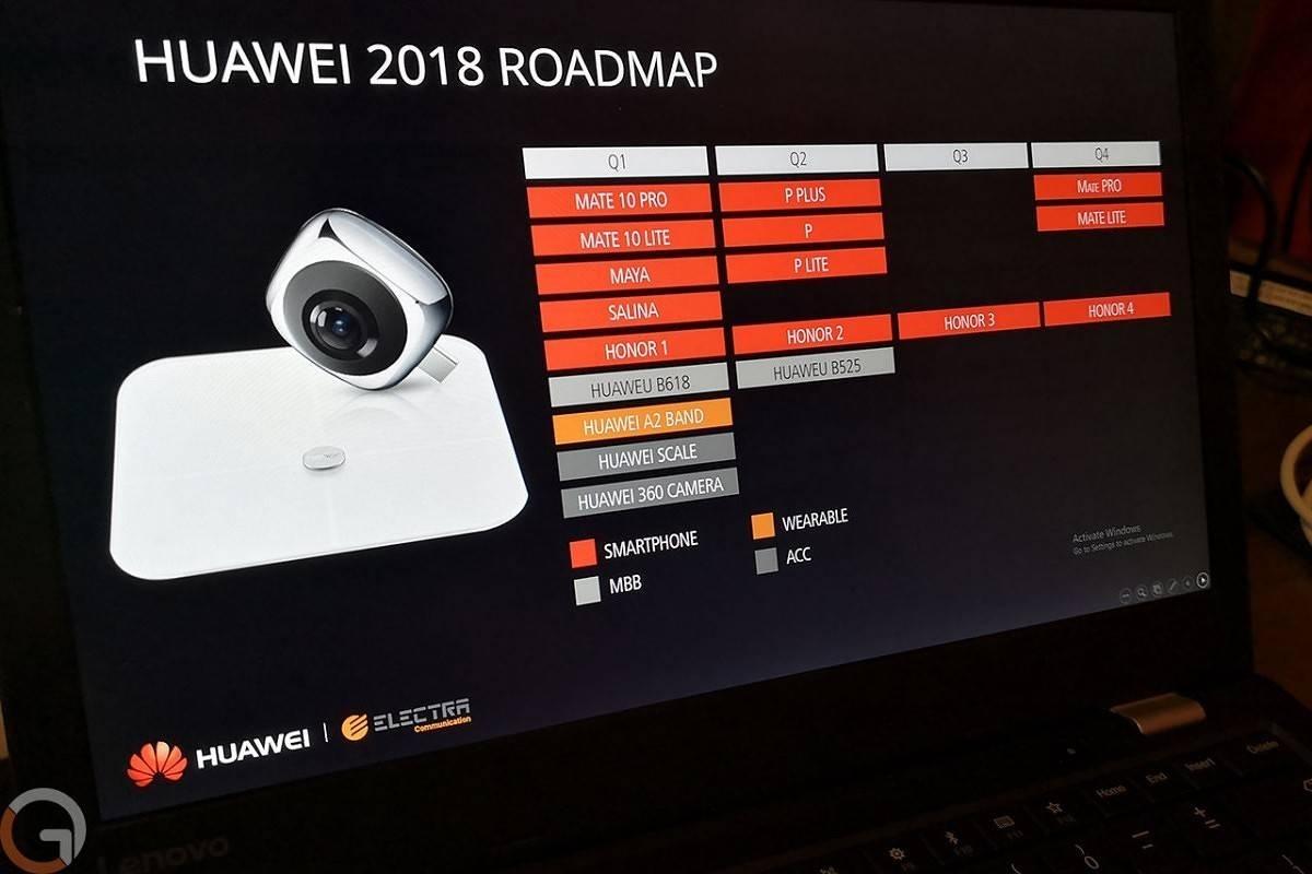 Стали известны планы Huawei посмартфонам на будущий год