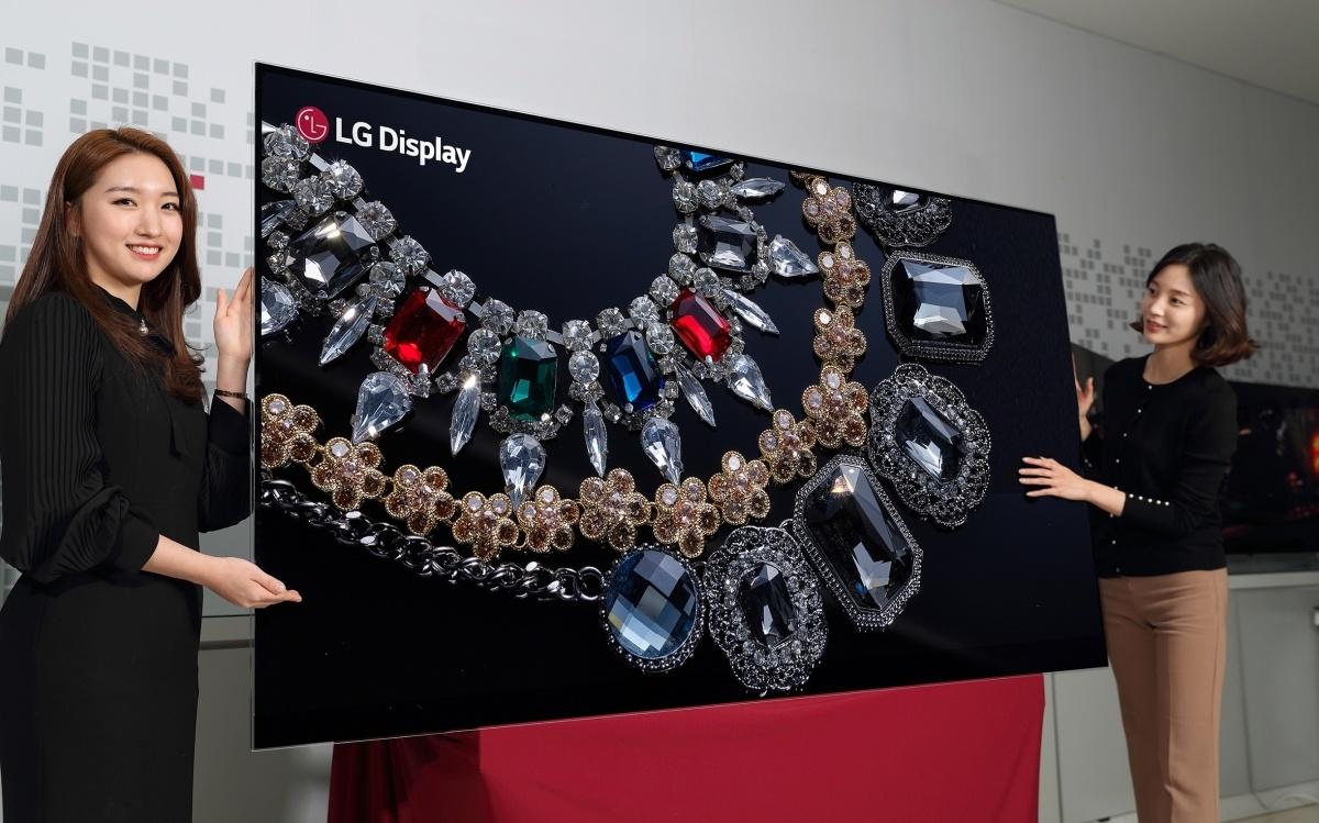 LGпланирует показать 1-ый 88-дюймовый OLED-экран с8K разрешением