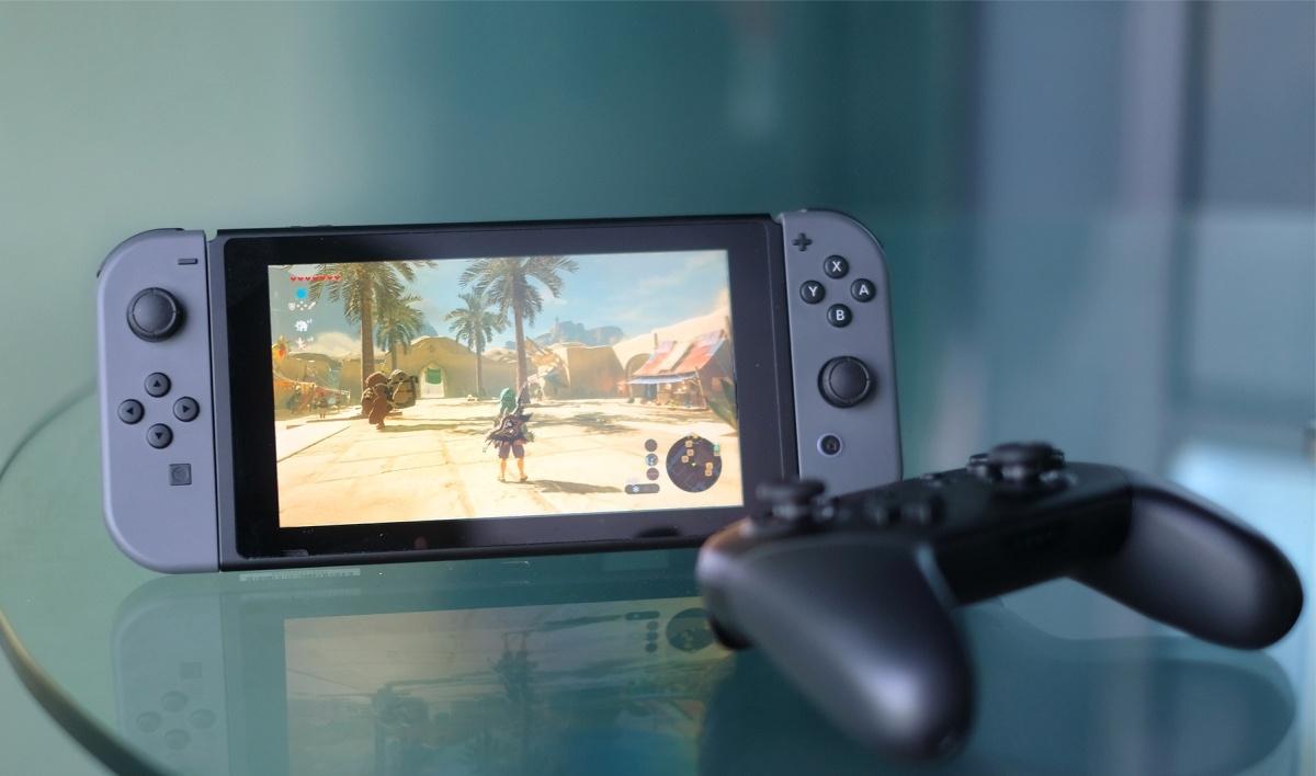 Продажи игровой консоли Nintendo Switch превысили вСША 4,8 млн экземпляров