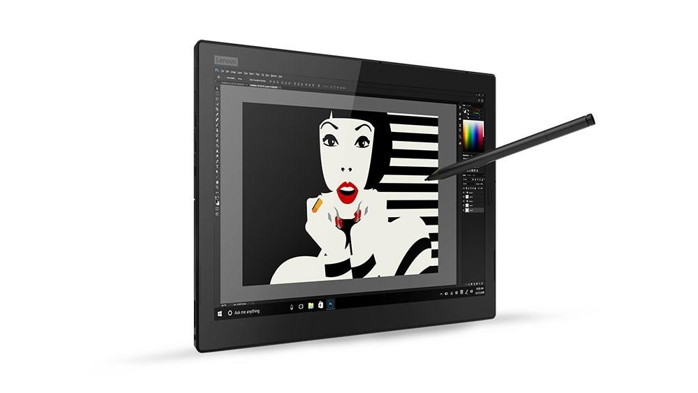 Lenovo привезла на CES 2018 новый планшет Think Pad X1 Tablet 2018