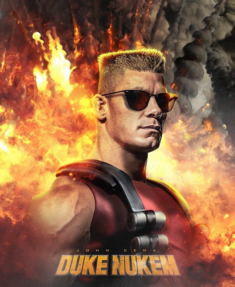 Джон Сина сыграет главную роль вкиноадаптации Duke Nukem