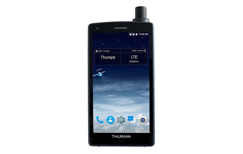 Thuraya X5-Touch будет первым вмире гибридом смартфона испутникового телефона