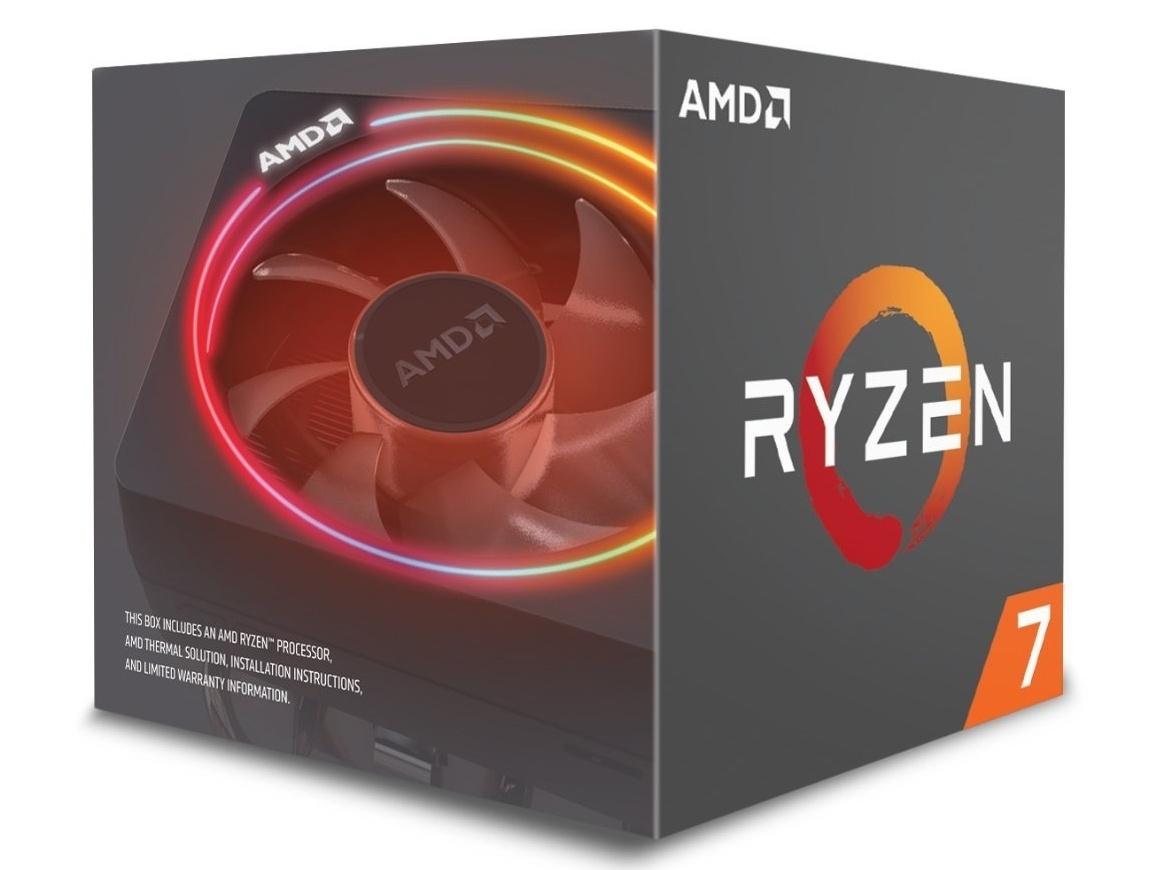 AMD анонсировала процессоры Ryzen второго поколения