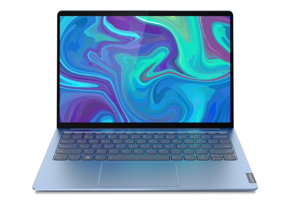 Синий ноутбук картинка