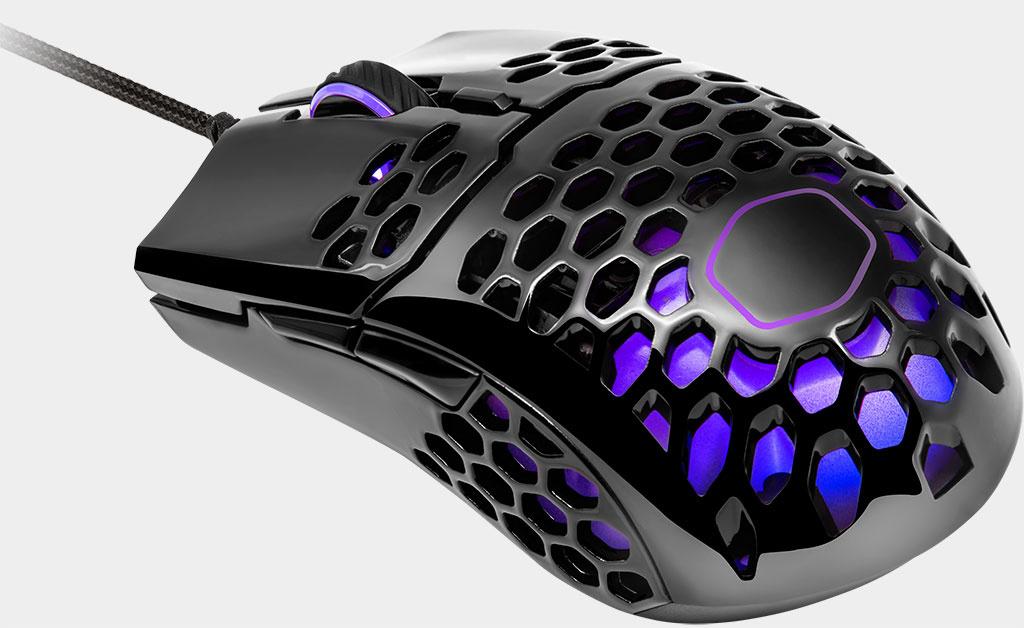 Cooler Master представила новую легковесную геймерскую мышь с RGB-подсветкой