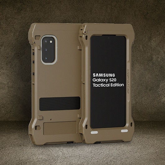 Samsung анонсировала Galaxy S20 Tactical Edition