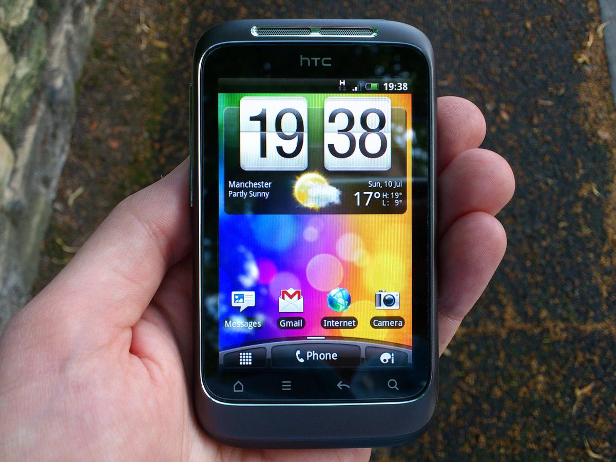 Ультрабюджетный HTC Wildfire E получит 5 45-дюймовый дисплей