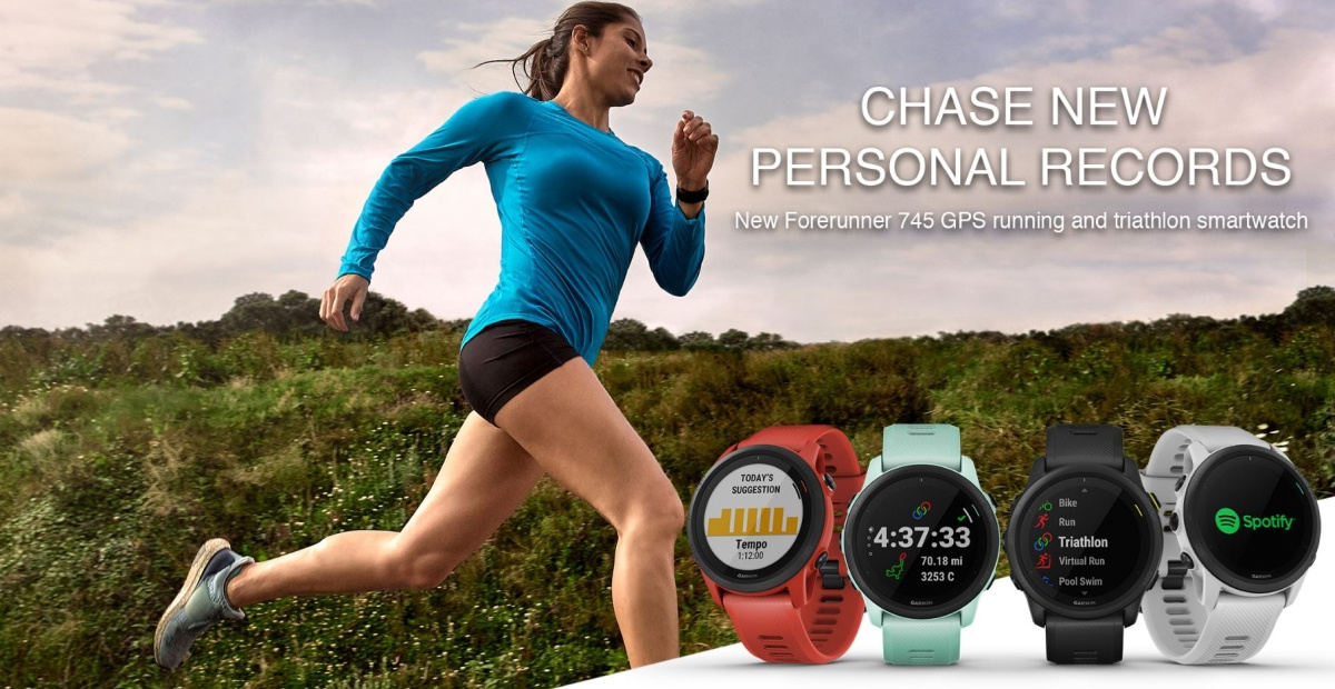 Garmin анонсировала топовые фитнес-часы Forerunner 745 - Новости