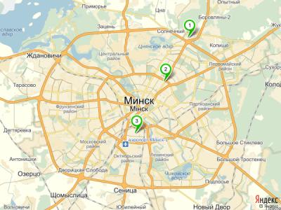 Карта нахождения